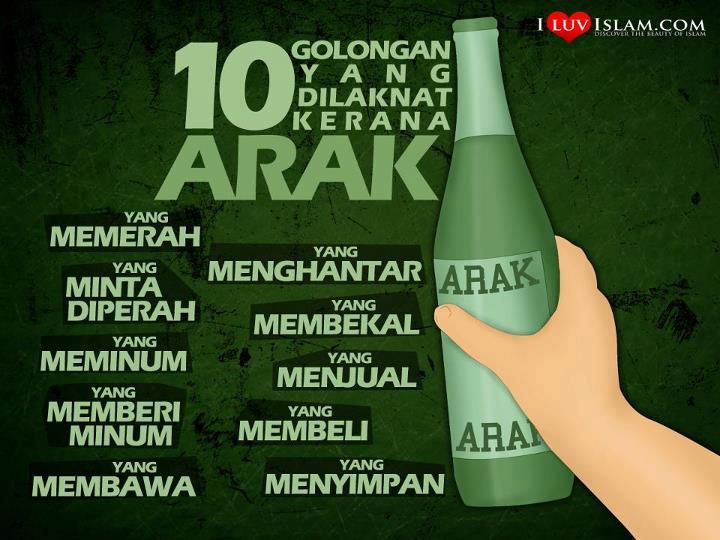 Kenapa Minum Arak Haram Dalam Islam