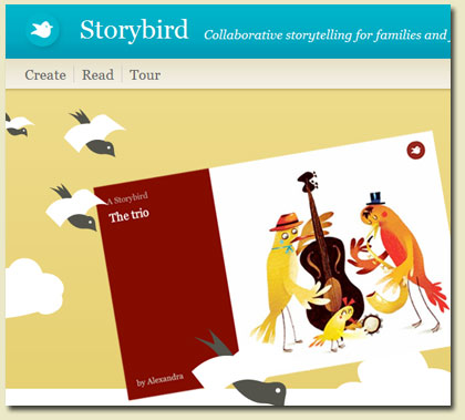 ed tech axis storybird collaborative storywriting story bird 420x379