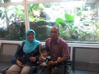 Bercuti ke Langkawi bersama keluarga