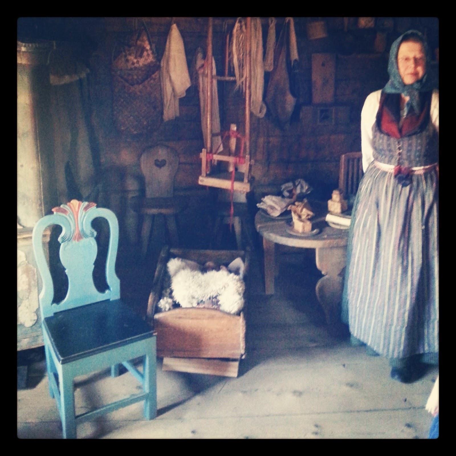 Skansen-dom meštianskej rodiny