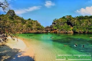 Pulau Sempu Pantai Sendang Biru