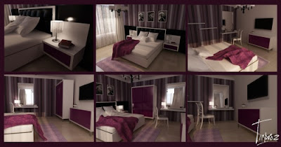DeSiGN InteRior: Violet Room Decorating Ideas