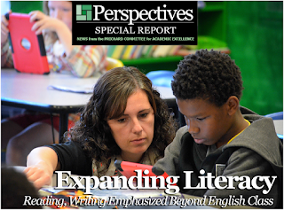 Expanding Literacy: Reading, Writing Emphasized Beyond English Class