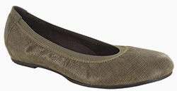 Munro Ashlie Gold Crosshatch Suede