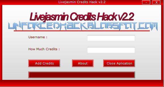 Download Livejasmin Credits Hack V4 Download Crack Serial Mediafire
