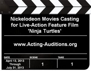 Nickelodeon Casting Ninja Turtles