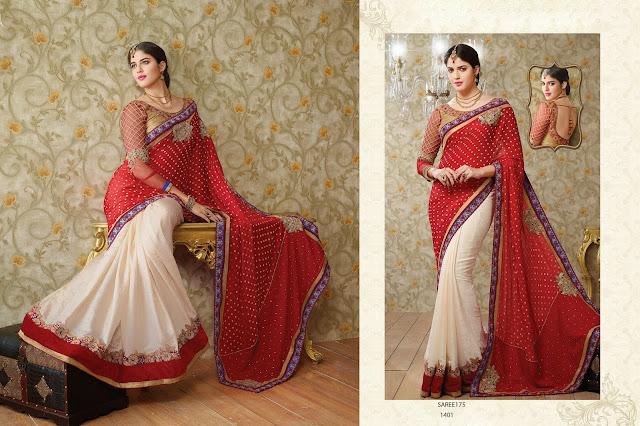 Buy Online Traditional Designer Wedding Saree