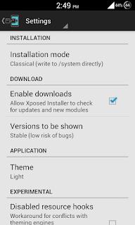 Xposed-installer-settings