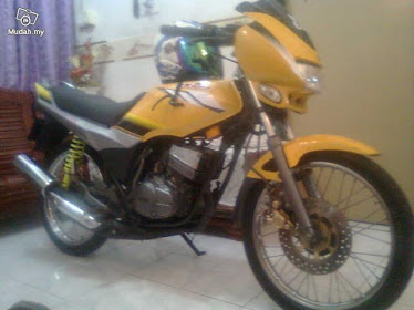 Yamaha RXZ Catalyzer Kuning Limited -07