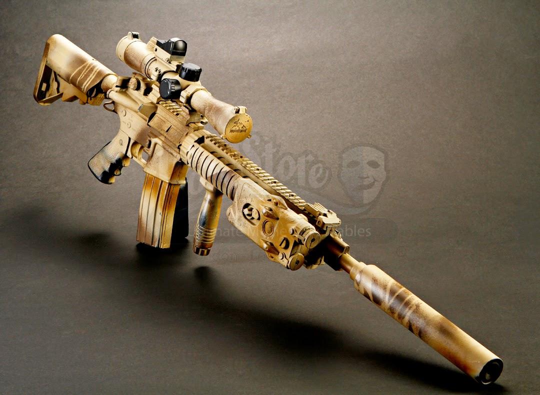 Lone Survivor - Matt 'Axe' Axelson's Mk. 12 Mod 1 Special ...