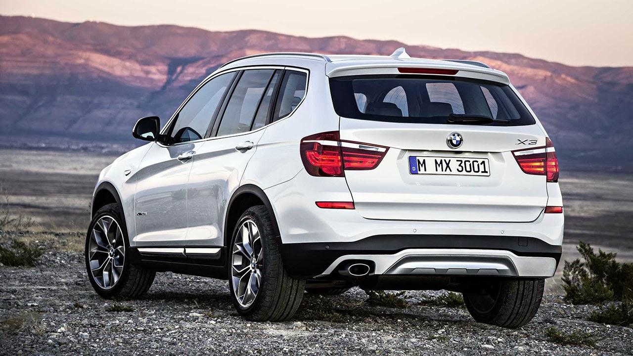 BMW X3 rear side