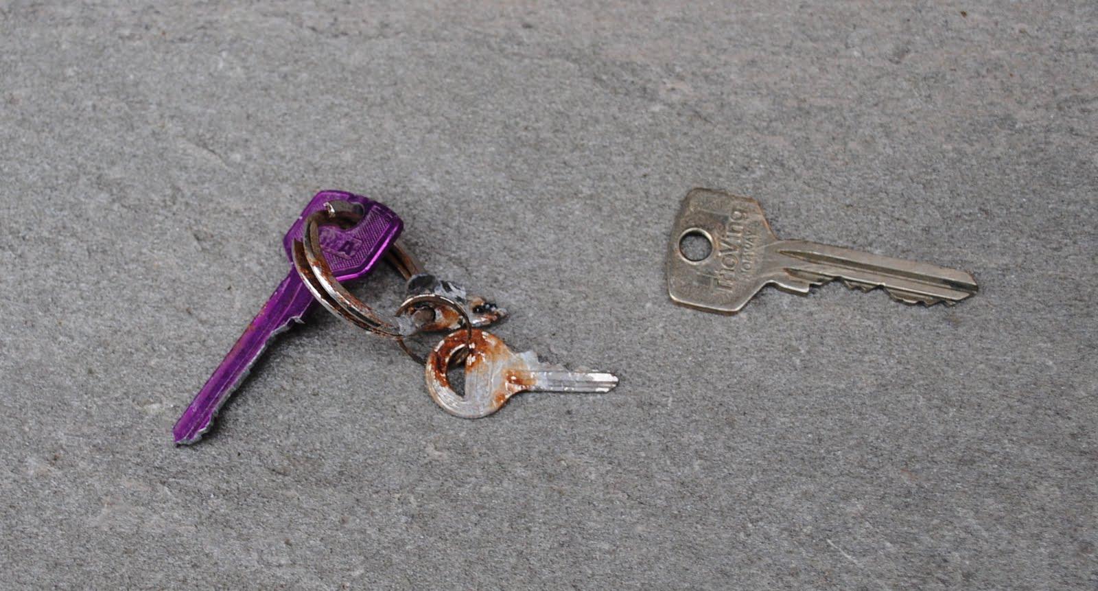 tapte nøkler renhold