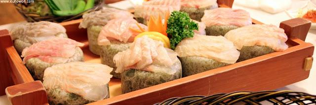 Plato de sashimi coreano