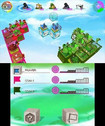 Cube Tactics Nintendo 3DS Teyon