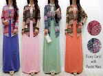 Gamis Jersey + Cardi SOLD OUT