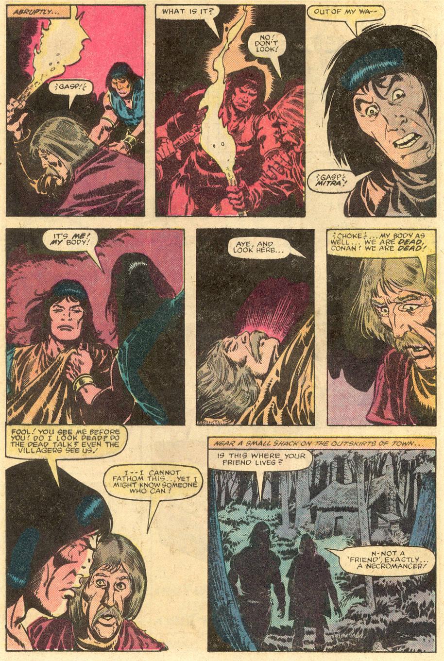 Conan the Barbarian (1970) Issue #143 #155 - English 17