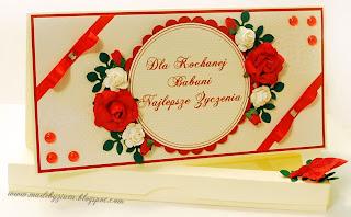 scrapbooking kartka dzień babci card making kartki okolicznościowe