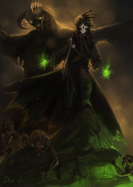 Necromancer por Dezilon