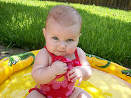 My bathing beauty niece