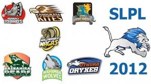 Sri Lanka Premier League Schedule 2012, Player Name, Team