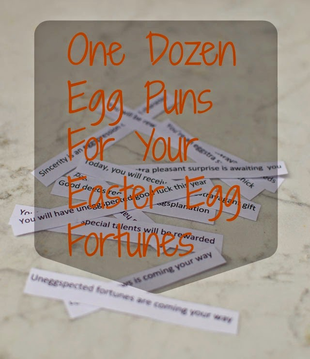 Easter Egg Fortune Puns