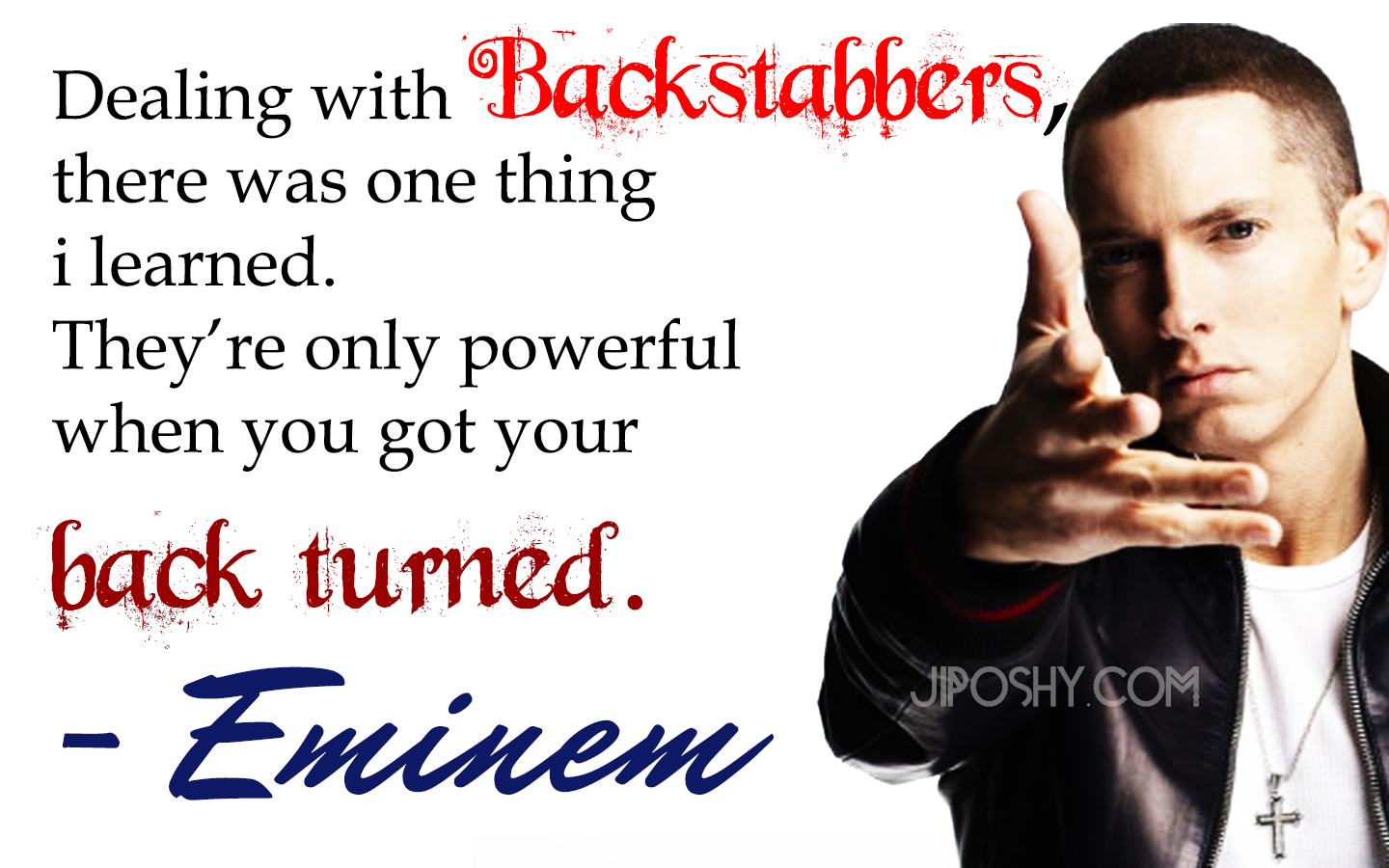 jiposhy what if eminem had his own reality television show