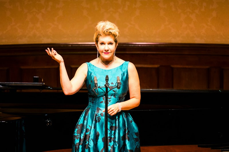 Joyce DiDonato at the Wigmore Hall - photo credit Simon Jay Price