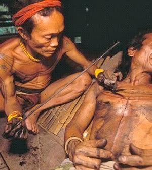 los maoríes utilizaban el tatuaje para la batalla