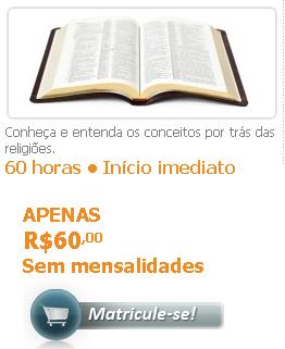 Curso de Teologia, recomendamos!