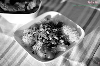 Pasta cá ngừ, cà chua 1