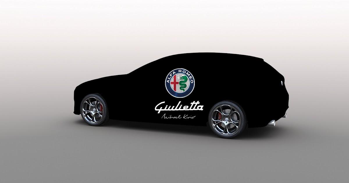 mk design: Alfa Romeo Giulietta 2018