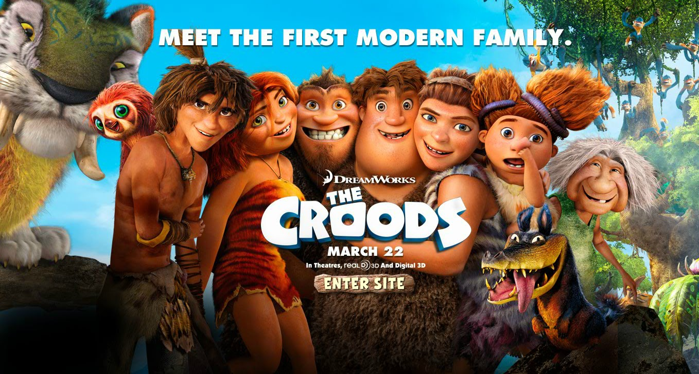 The croods family movie review snymed the croods movie poster voltagebd Gallery