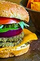 East Indian Veggie Burger