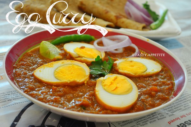 Dhaba Style Egg Curry Spicy Punjabi Recipe