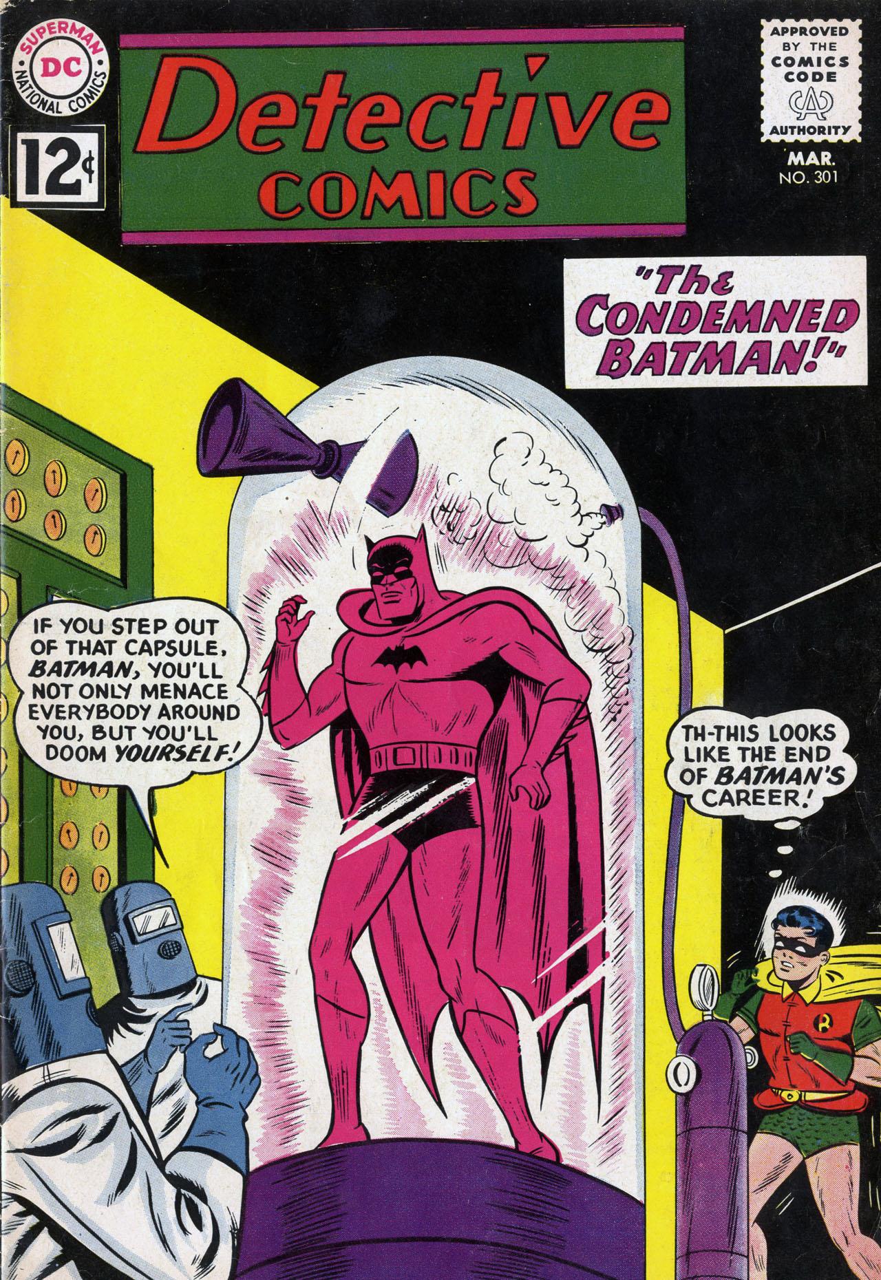 Detective Comics (1937) 301 Page 1
