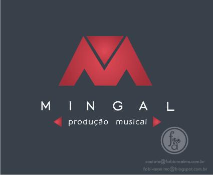 logotipo Mingal Produção Musical