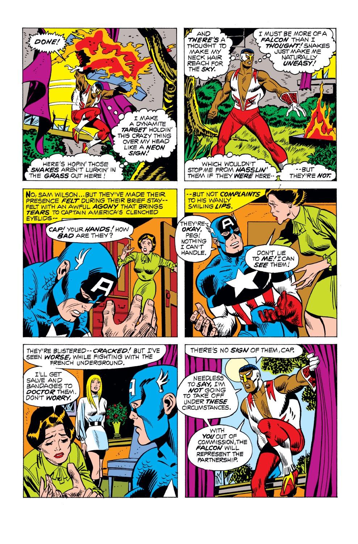 Captain America (1968) Issue #163 #77 - English 11