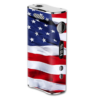 The American Flag skin design for your Eleaf iStick 100W