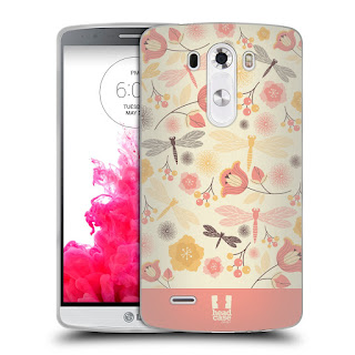 HEAD CASE DRAGONFLIES SILICONE GEL CASE FOR LG G3 D850