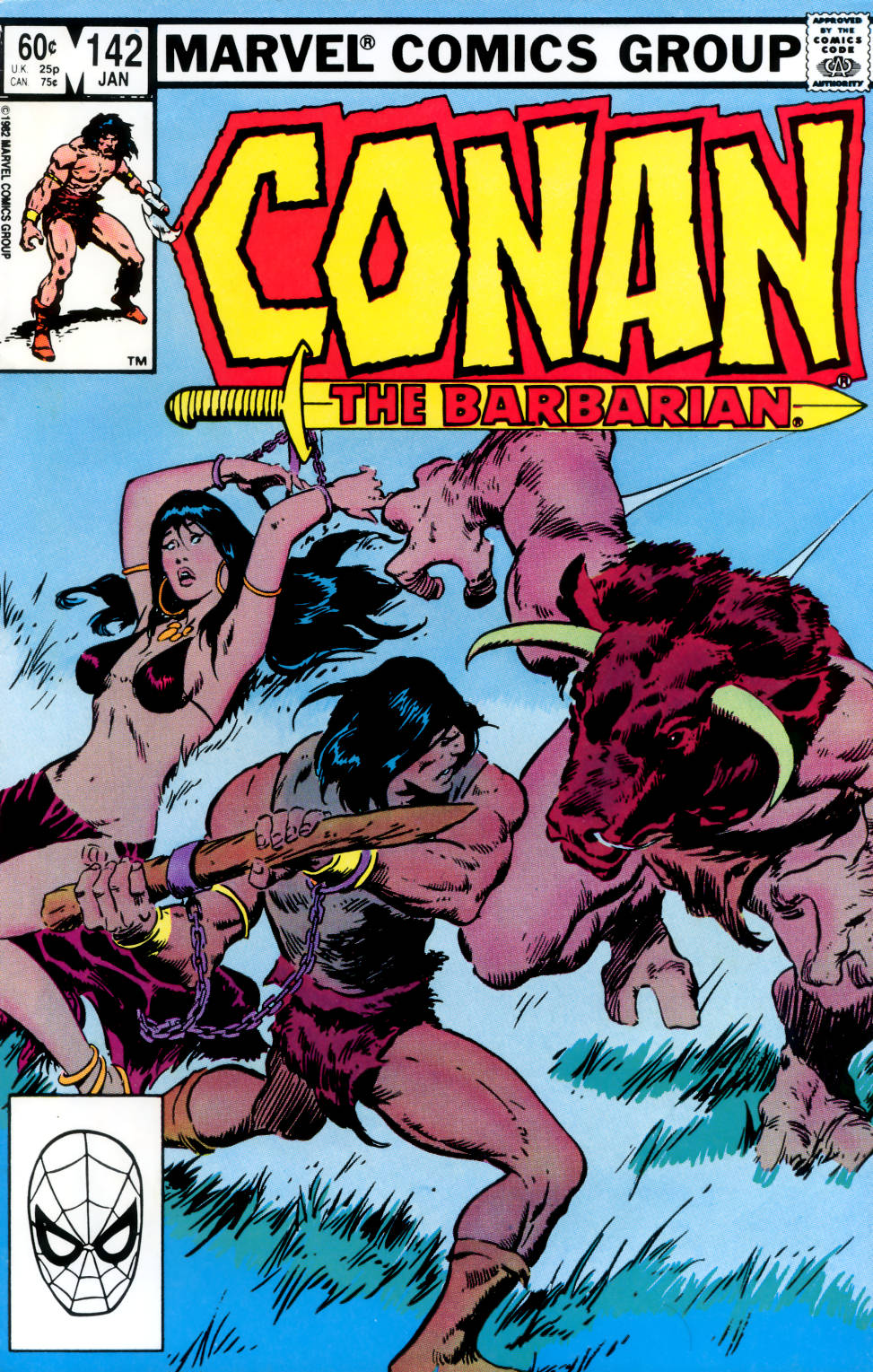 Conan the Barbarian (1970) Issue #142 #154 - English 1
