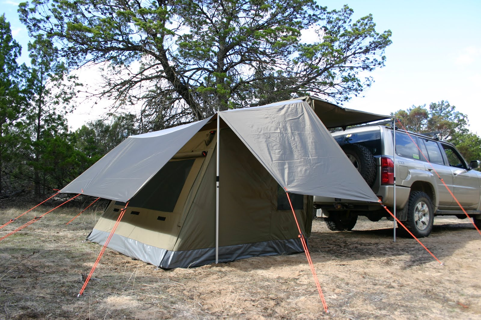 If your tent is equipped with window awnings this is a good feature to maintain ventilation even during rain. & Family Tent Camping : Tips for Keeping Cool in your Tent