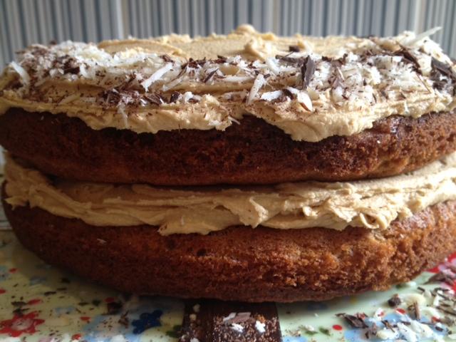 Chocolate Brazil Nut Sponge Cake