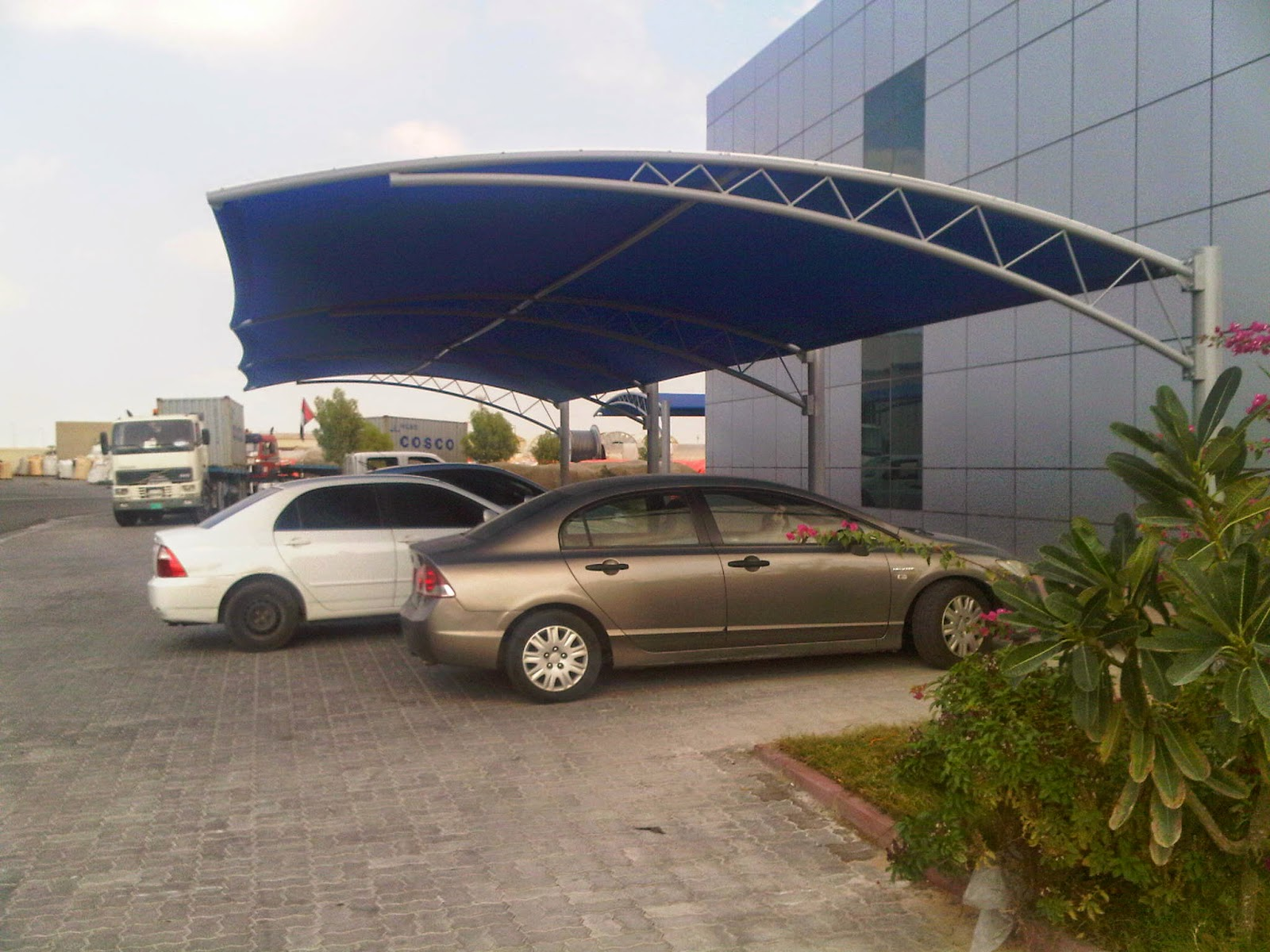 ... C&ing Tents Hajj Tents Frame Tents Marquee Tents General Tents car parking shades sail shades Swimming pool shade and Tensile Shade. & Tensile Shade IN UAE | Car Parking Shade UAE | Bait Al Nobala ...