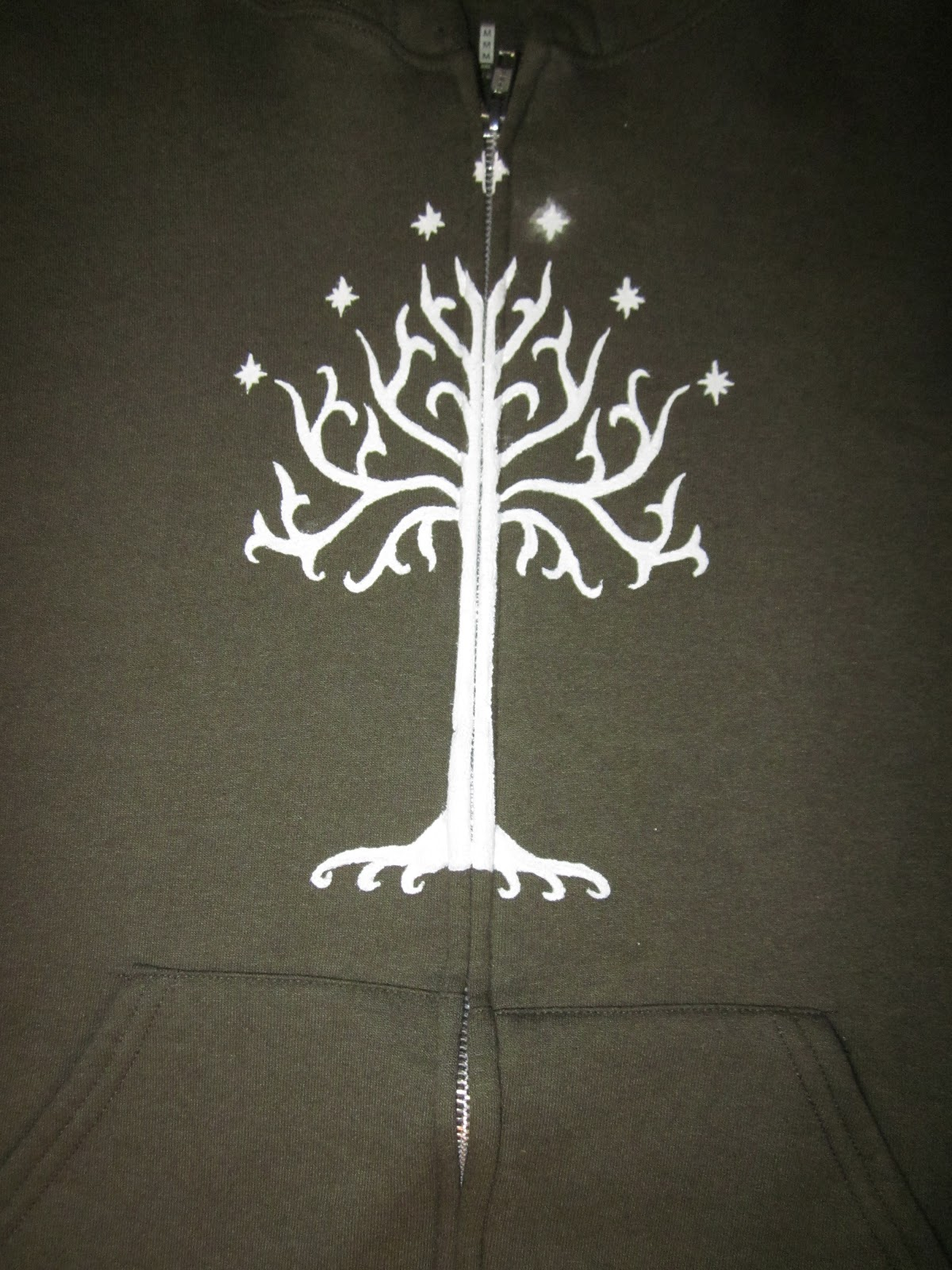 White Tree Of Gondor Stencil