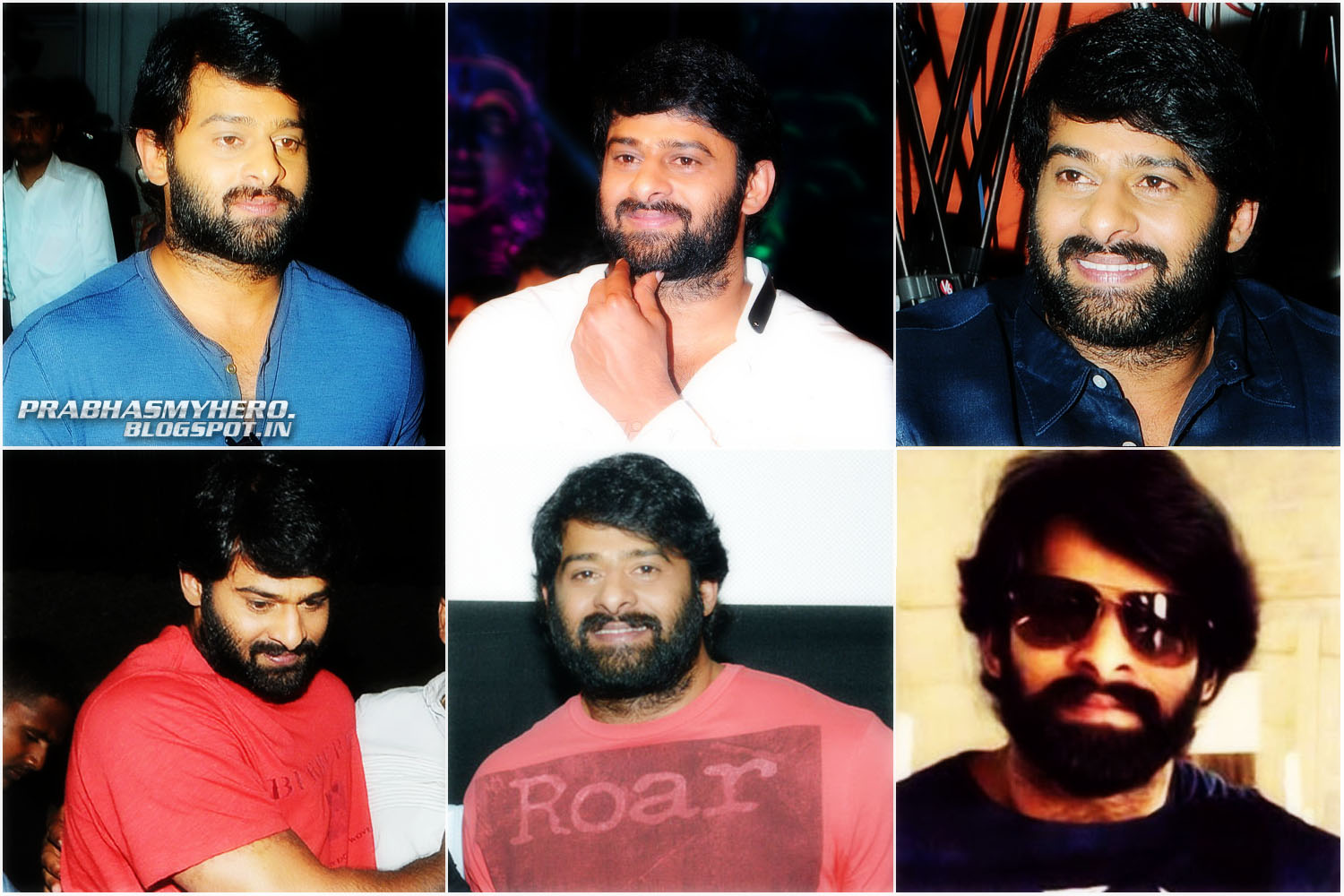 prabhasmyhero: Prabhas New Look for Baahubali