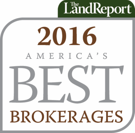 The Land Report - 2016 America's Best Brokerages