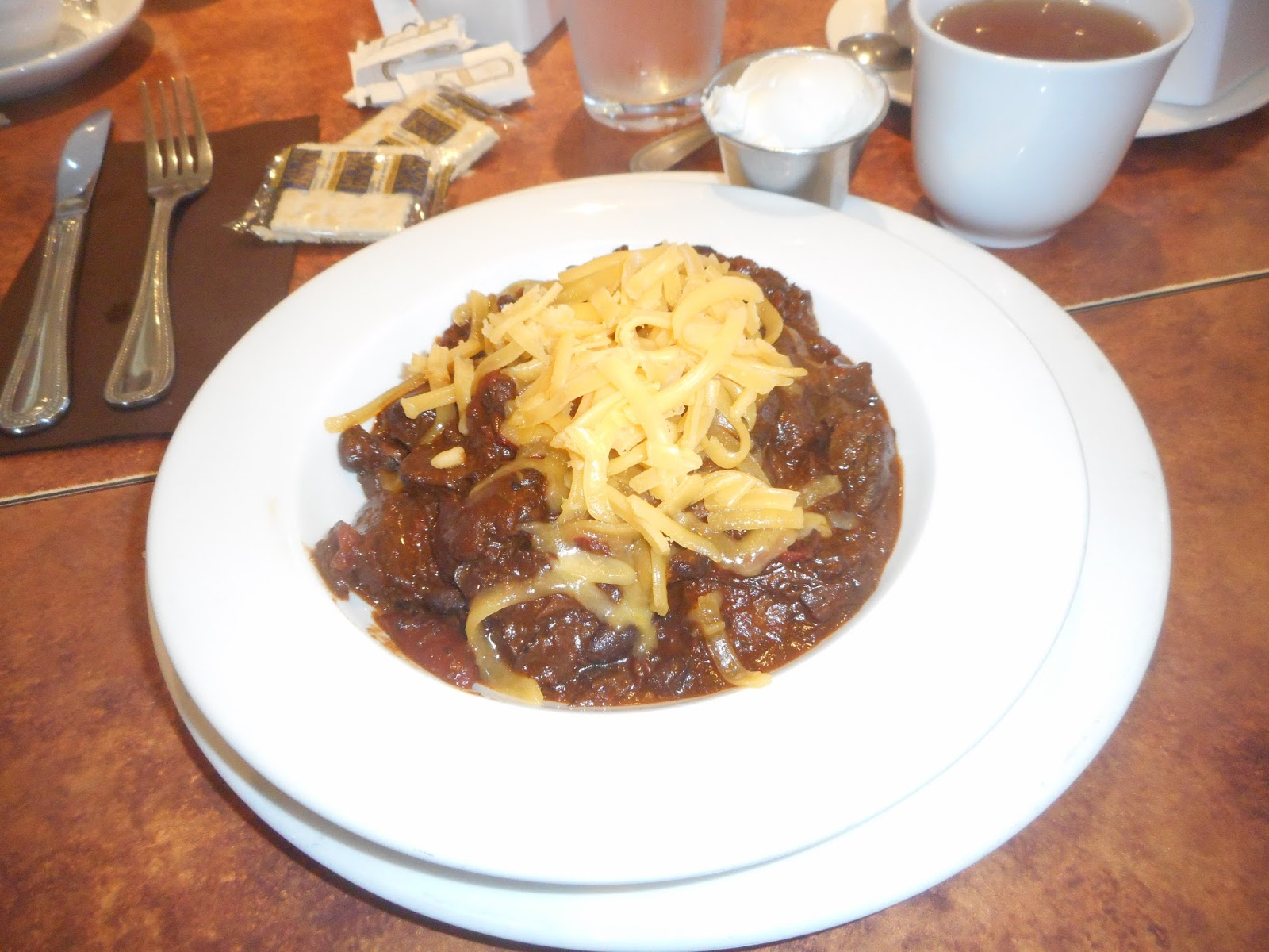 Prime rib chili with black beans, chorizo (sausage), dark chocolate ...