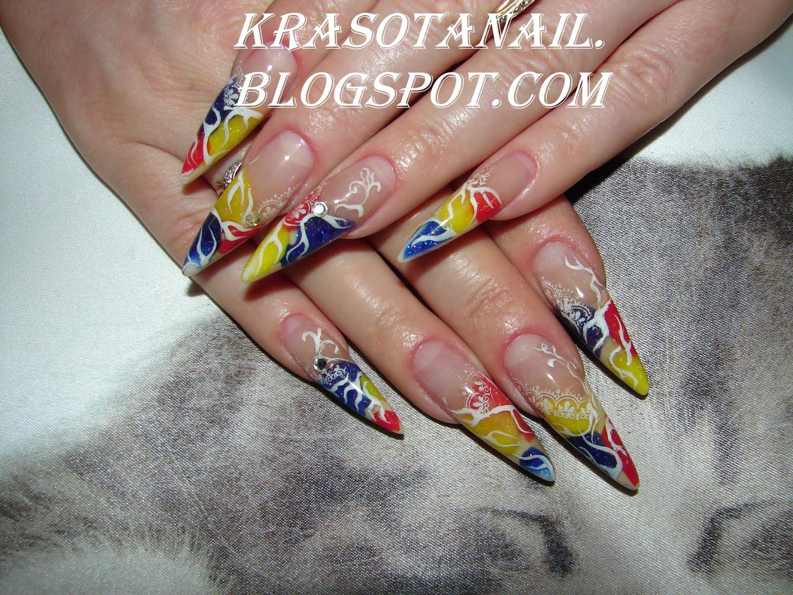 Дизайн ногтей 72