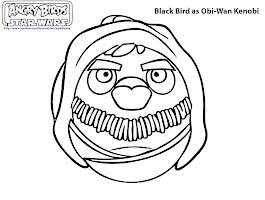 Lego Star Wars Obi Wan Coloring Pages