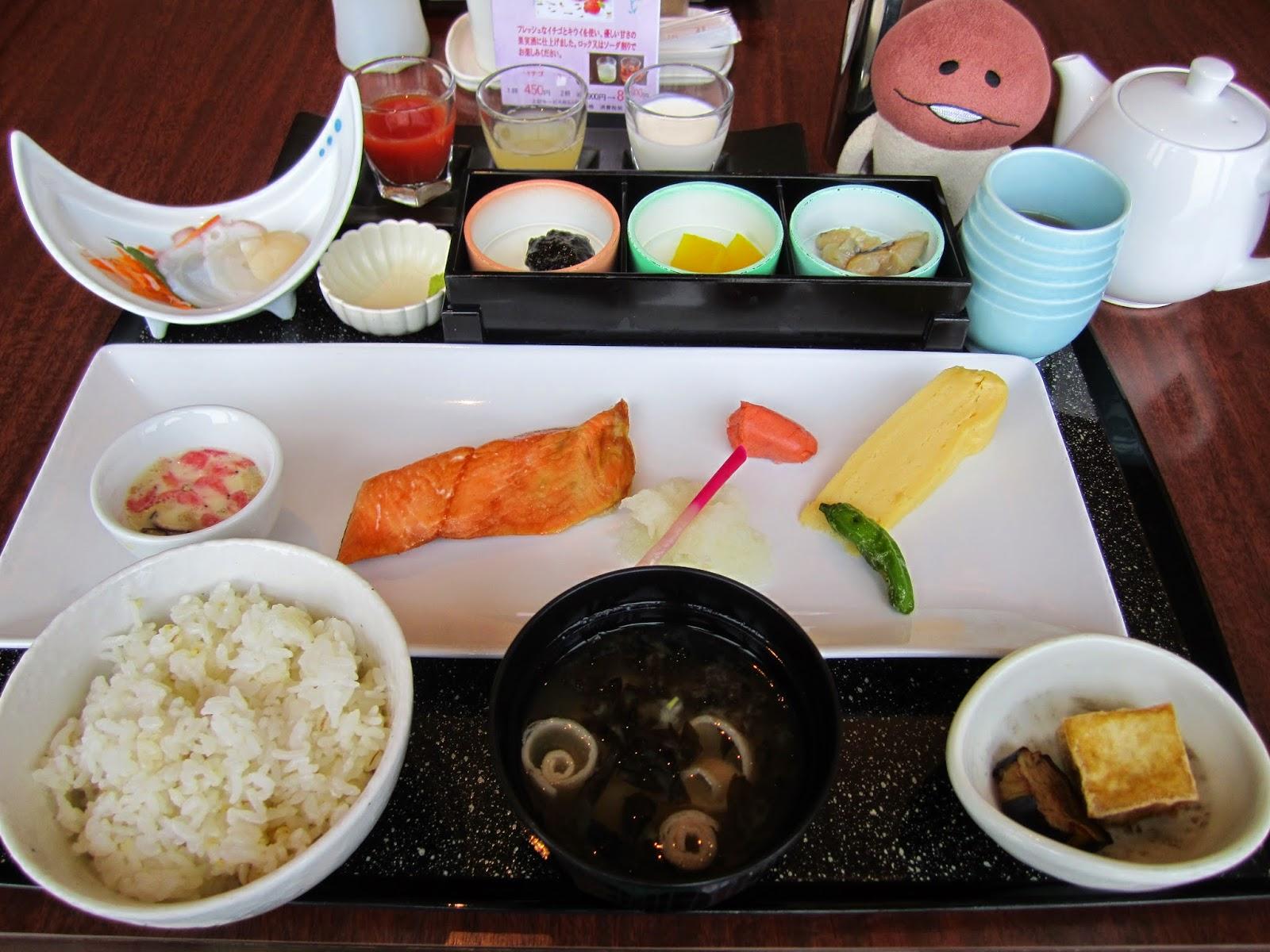 Japanese Style Breakfast Hotel Neuschloss Otaru